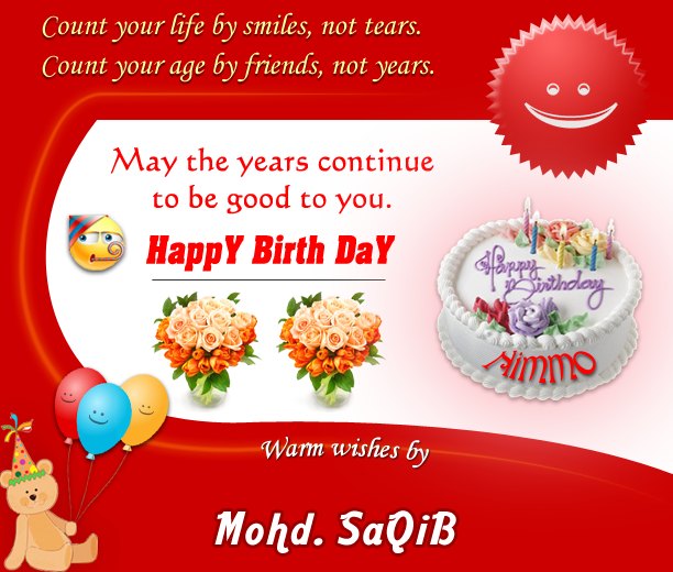 Bday greeting for my friend by designsmart on deviantart bday greeting for my friend by designsmart m4hsunfo