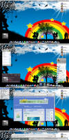 My desktop on 22th May 2008