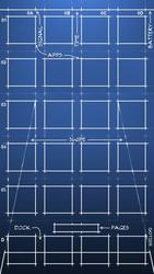 Blueprint iPhone 5 by Gotier