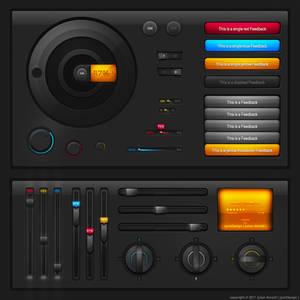 Tech UI elements