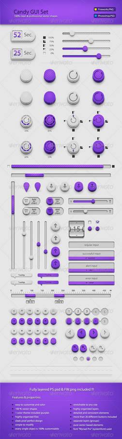 Candy GUI Set