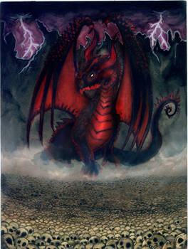 Black Dragon Skulls