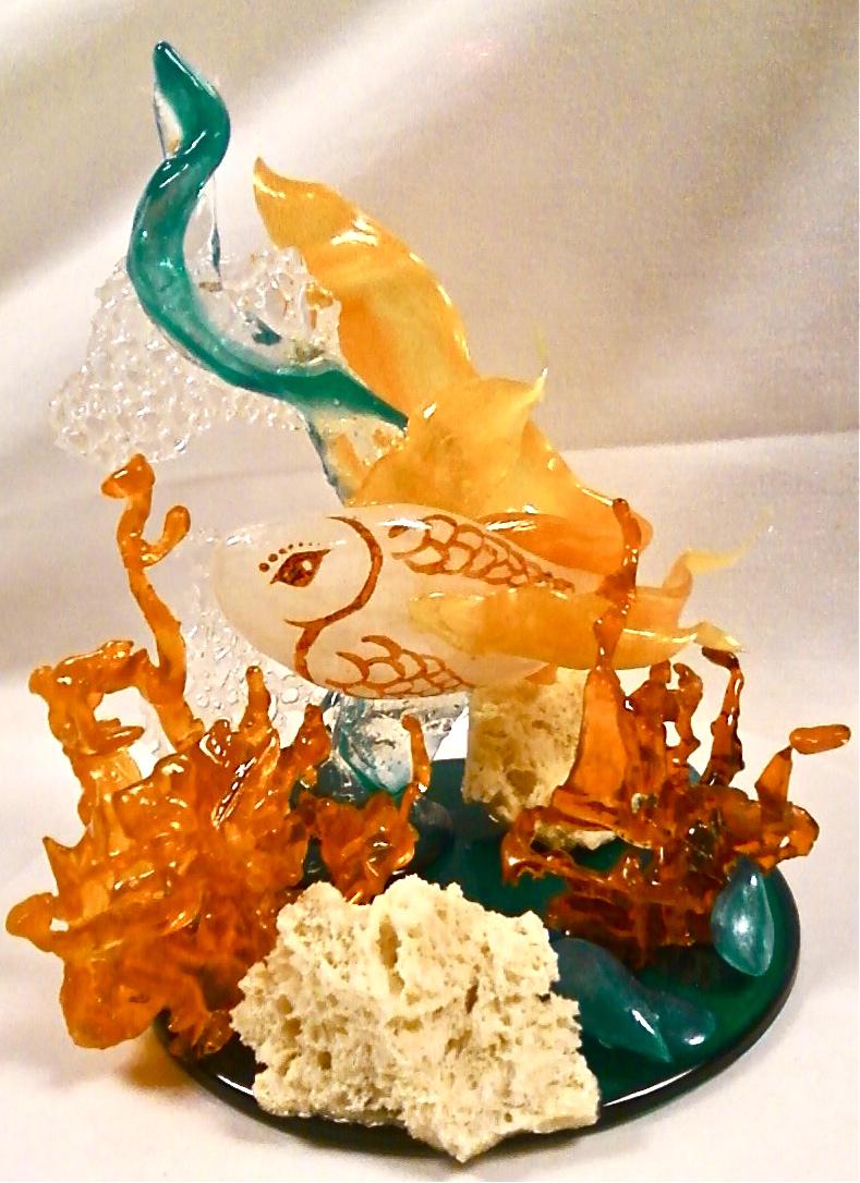 Underwater Scene in sugar by BrightlyWound455