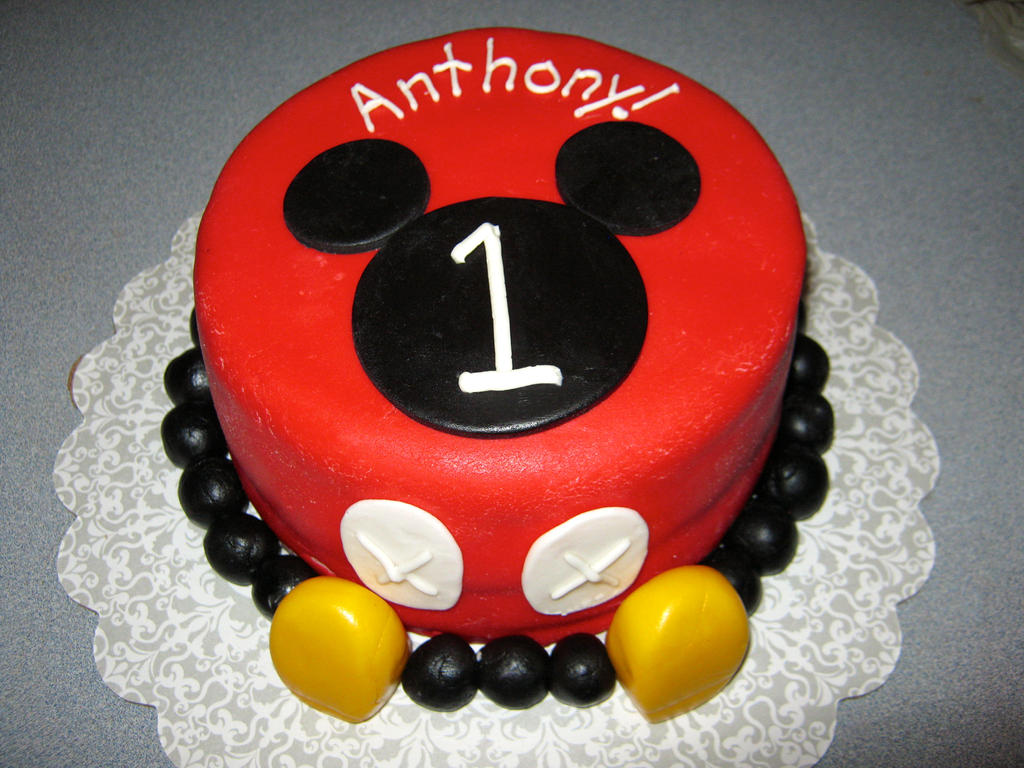 Mickey Mouse Smash Cake by BrightlyWound455 on DeviantArt