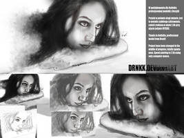Speed drawning BOREDOMmixBEAUTY by drNKK