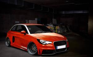 Audi A1 by BitFabio