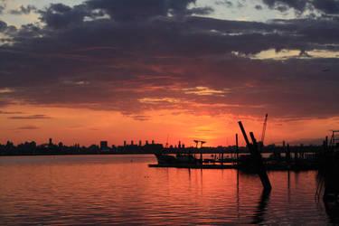 sunset by myxednuttz