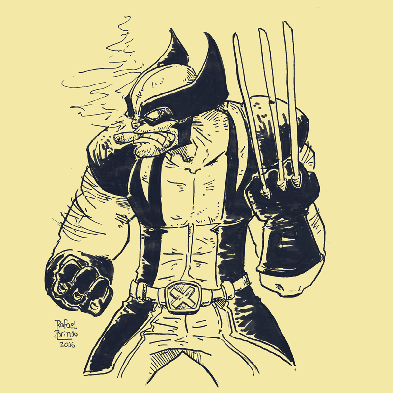 Wolverine by rafaelbrindo