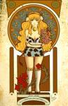 Vaquita Art Noveau