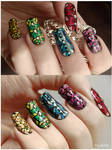 Stained Glass Nail Art