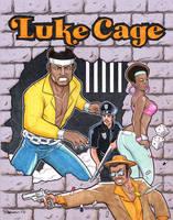 Luke Cage Marker Commission by BillMcKay
