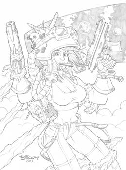 Heavenly Bodies Base Card Pencils