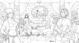 Post Apocalyptic Harem Pencils