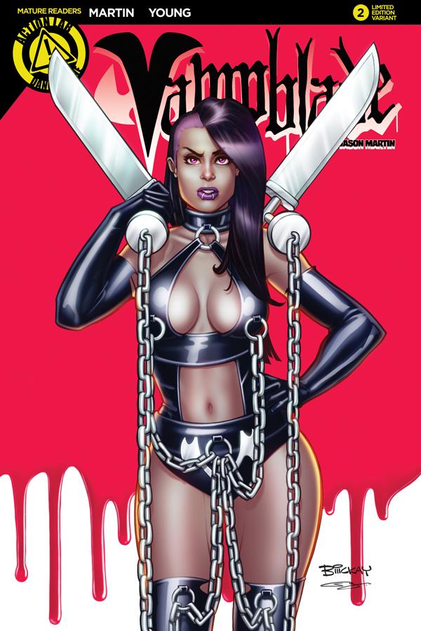 Vampblade 2 Variant Cover C by BillMcKay