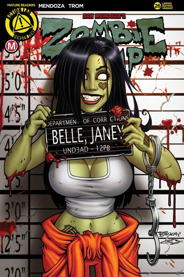 Zombie Tramp #26 by BillMcKay