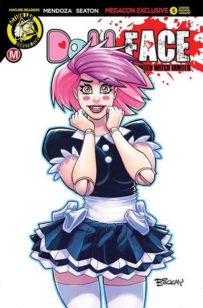 Dollface Megacon Exclusive Cover by BillMcKay