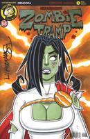 Zombie Tramp Power Girl Sketch by BillMcKay