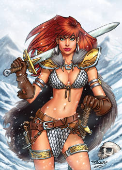 Red Sonja 1 Cover