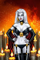 Lady Death Scorched Earth Nice Cover by BillMcKay