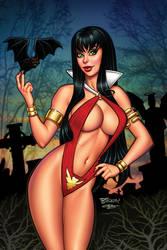 Vampirella #1 by BillMcKay