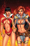 Vampirella Red Sonja 1 NYCC Comics Elite Exclusive