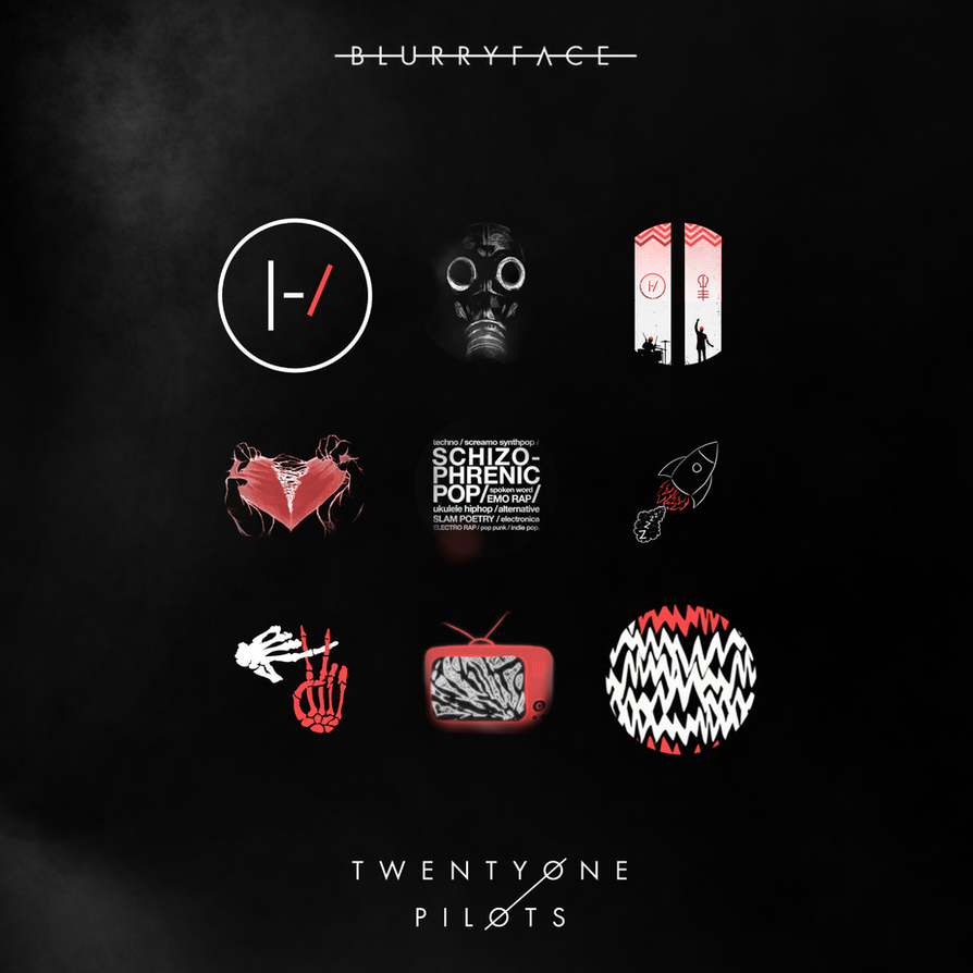 Twenty One Pilots Blurryface By Darthadin On Deviantart