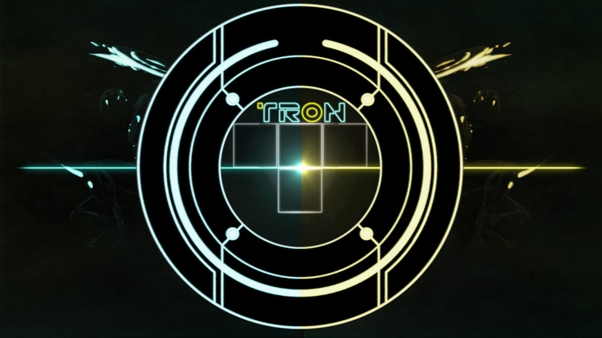 Tron And Rinzler Wallpaper By Darthadin