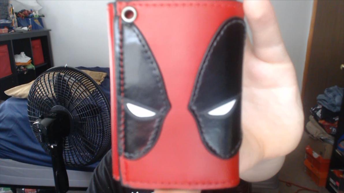 My Deadpool Wallet by DarkrowTheHedgelynx