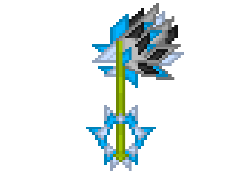 My New Keyblade by DarkrowTheHedgelynx