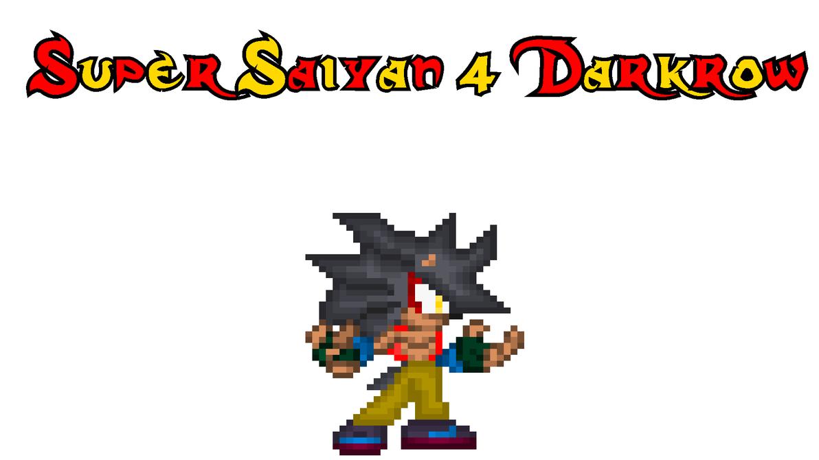 My Super Saiyan 4 Form by DarkrowTheHedgelynx