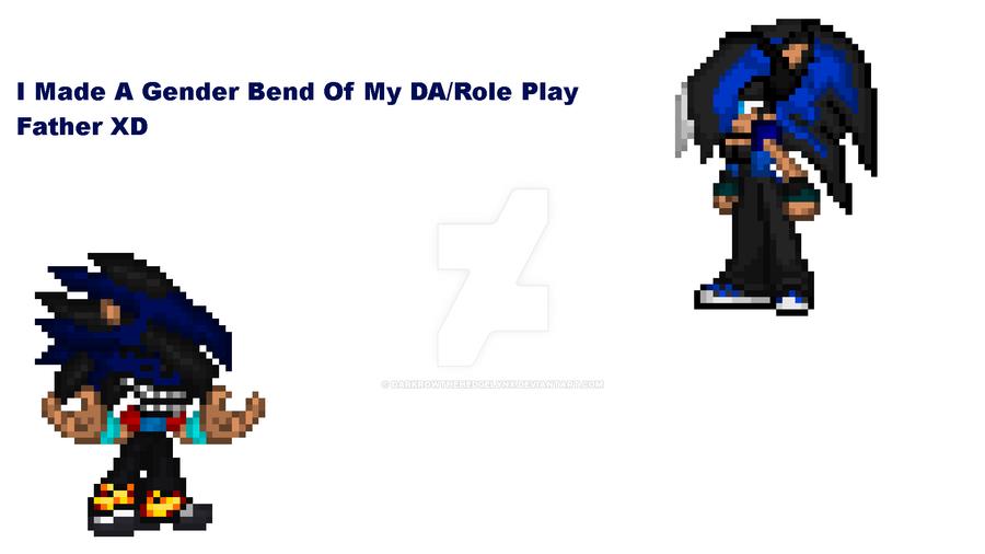 Isaac's Gender Bend XD by DarkrowTheHedgelynx