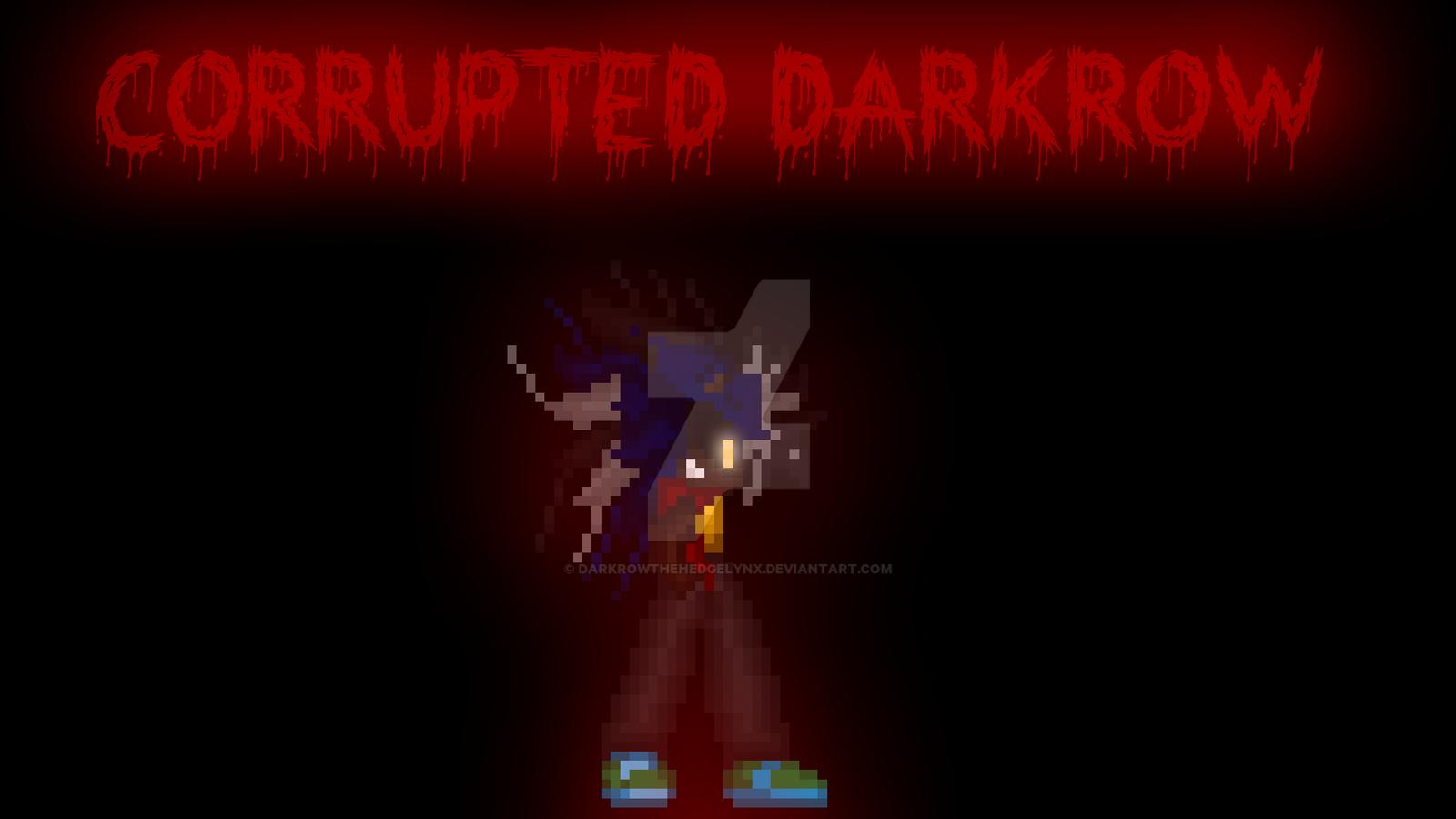 My Corrupted Form by DarkrowTheHedgelynx