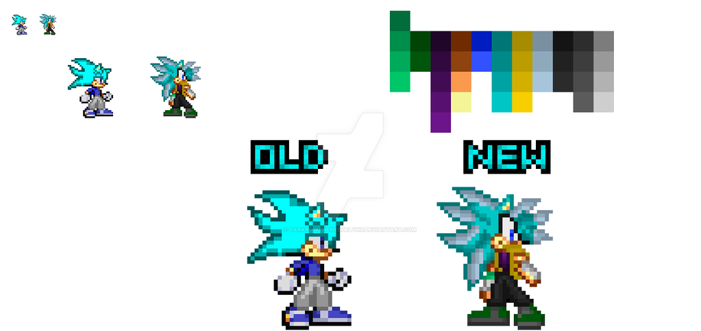 Icer The Hedgehog's Revamp by DarkrowTheHedgelynx