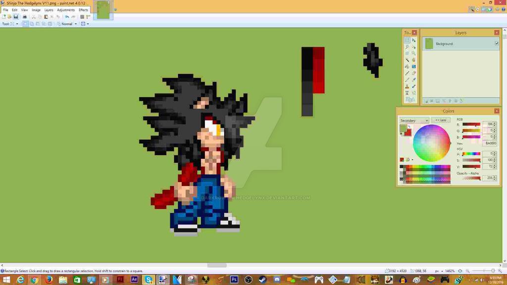 Super Hedgelynx 4 Remade by DarkrowTheHedgelynx