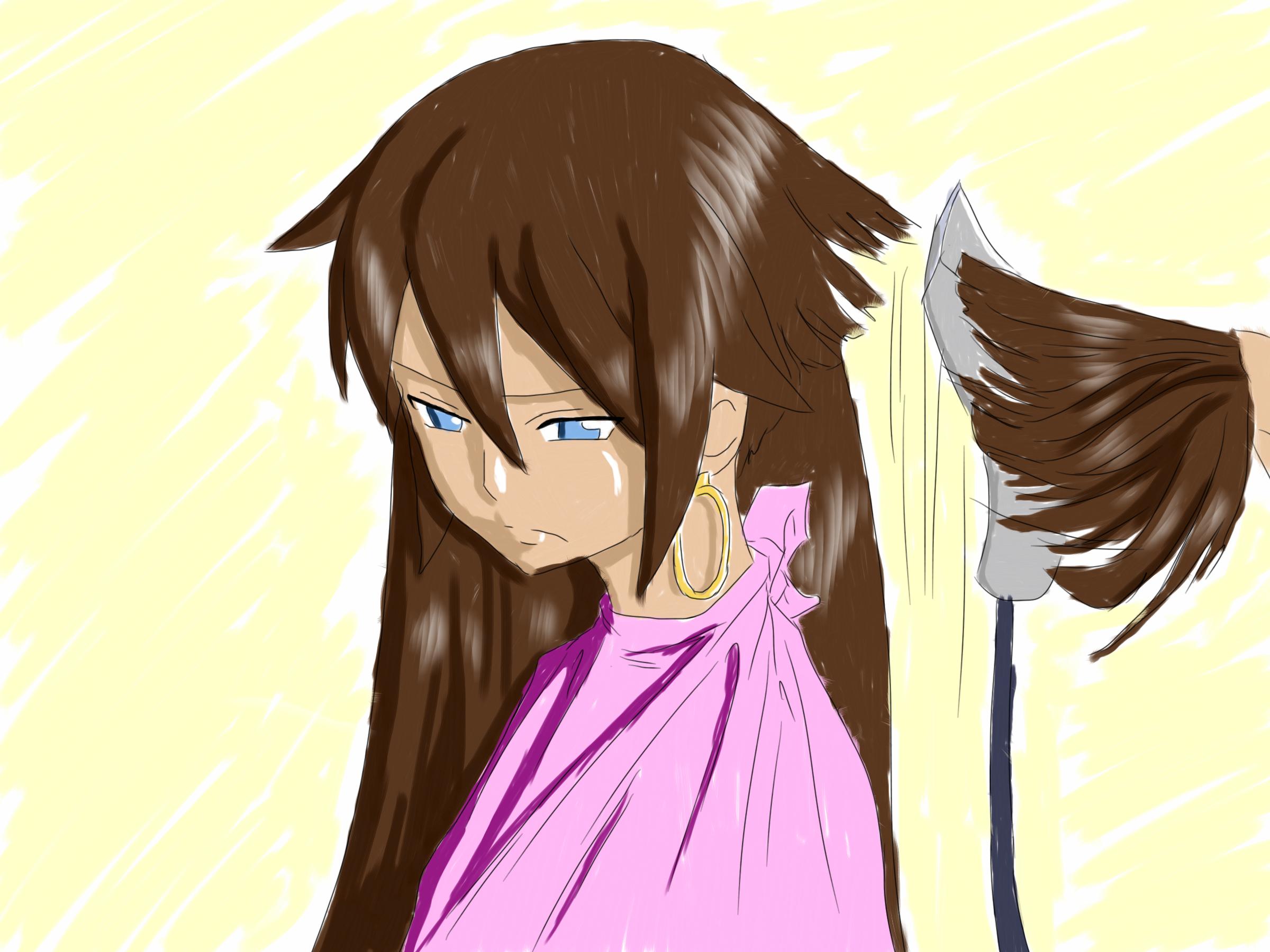 Fairy Tail Eclair Haircut Part 2 By Danielwartist On