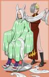 Ryukyu Cuts Mirko's Hair