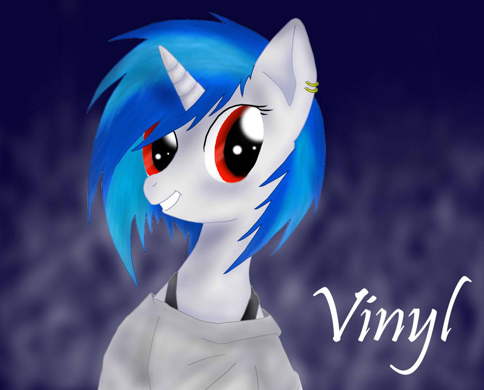 Vinyl Scratch by Hyakura