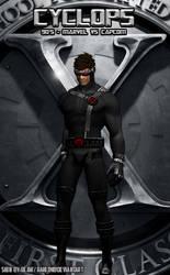 Cyclops - 90's (Marvel vs Capcom Black)