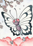 012 Butterfree (ACEO)