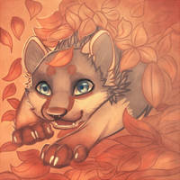I like leafes :3 by Dyaniart