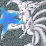 Shiny Ninetale, Blue Fireblast