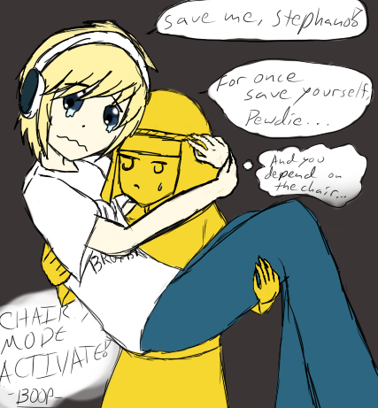Save me Stephano-Pewdiepie Test Draw by Shinkou-san