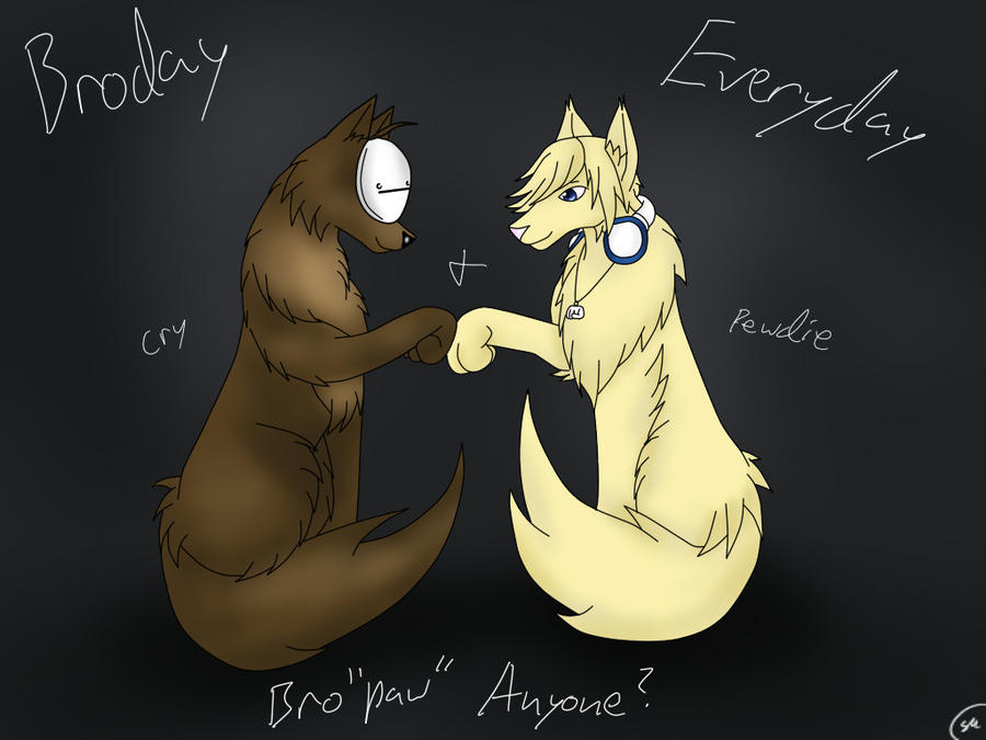 Wolves Cry and Pewdie-Bro'PAW' by Shinkou-san