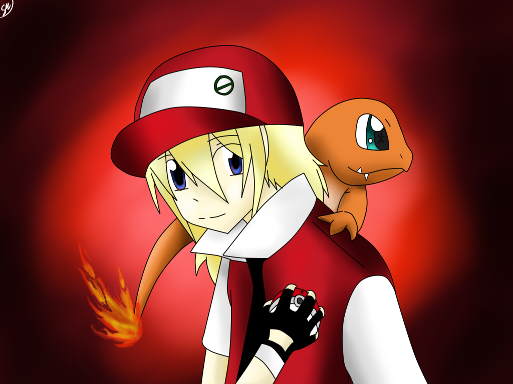 let s play pokemon red by shinkou san on deviantart
