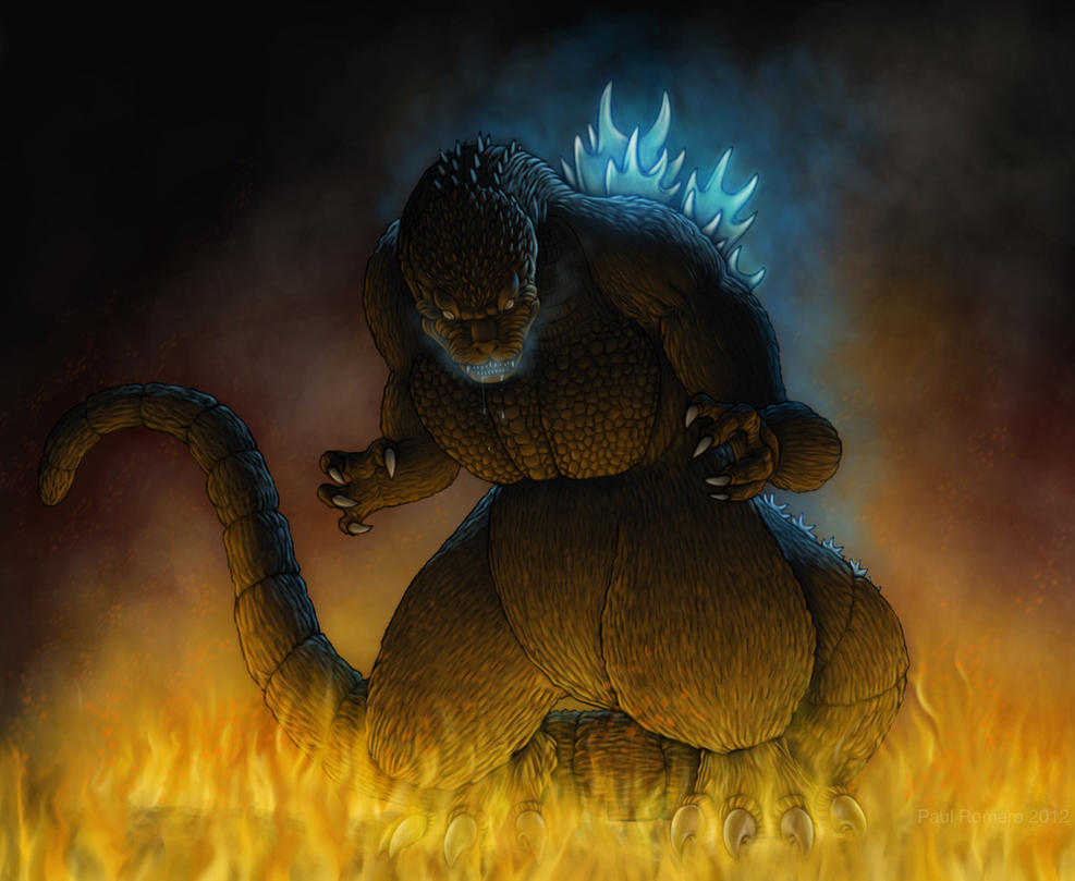 Godzilla 2012 by Paul Romero by Paul-Romero