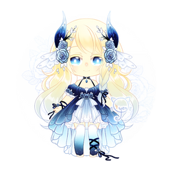 .: Blue Daemonia Adopt Set Price [ CLOSED ty! ] :. by o-yen