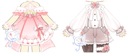 .: Outfit Adopts Set Price [ CLOSED ] :. by o-yen