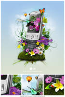 LG KC780 Primavera by BraceZenith