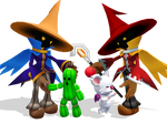 Black Mages and Friends