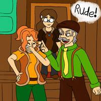 Rude! by onenoteandlisten